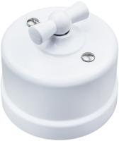 Выключатель Bironi B1-202-21 (белый) -