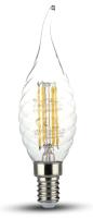 Лампа V-TAC 4 ВТ 400LM Е14 2700К SKU-4308 -