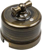 Выключатель Bironi B1-202-25 (бронза) -