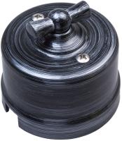 Выключатель Bironi B1-201-11 (серебряный век) -