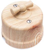 Выключатель Bironi B1-201-13 (карельская сосна) -