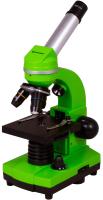 Микроскоп оптический Bresser Junior Biolux SEL 40-1600x / 74319 (зеленый) -