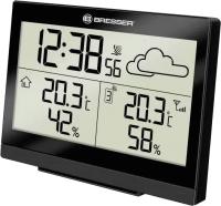 Метеостанция цифровая Bresser TemeoTrend LG / 73266 (черный) -