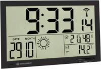 Метеостанция цифровая Bresser MyTime Jumbo LCD / 74646 (черный) -