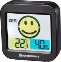 Метеостанция цифровая Bresser MyTime Smile / 74658 (черный) -