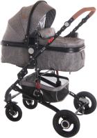 Детская универсальная коляска Lorelli Alba 3 в 1 Dark Grey / 10021472060 -