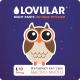 Подгузники-трусики детские Lovular Night L 9-14кг / 429053 (19шт) -