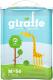 Подгузники-трусики детские Lovular Giraffe M 6-10кг / 429048 (56шт) -