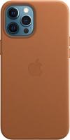 Чехол-накладка Apple Case With MagSafe для iPhone 12 Pro Max Saddle Brown / MHKL3 -