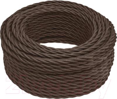 Провод силовой Bironi B1-434-72-50 (10м, коричневый матовый)