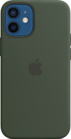 Чехол-накладка Apple Case With MagSafe для iPhone 12 Mini Cypress Green / MHKR3 -