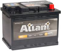 Автомобильный аккумулятор Atlant Black R+ (60 А/ч) -