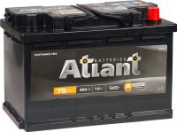 Автомобильный аккумулятор Atlant Black R+ (75 А/ч) -
