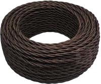 Провод силовой Bironi B1-424-072-50 (10м, коричневый глянец) -
