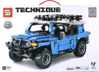 Конструктор инерционный Darvish Toyota-8500 / DV-T-2593 (999дет) -