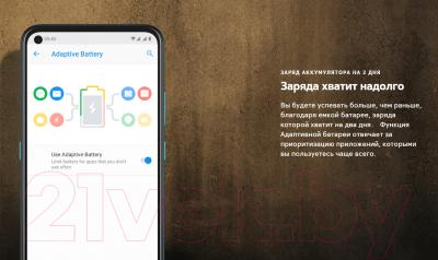 Смартфон Nokia 3.4 3GB/64GB DS / TA-1283 (серый)