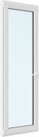 Дверь балконная Brusbox Elementis Kale Поворотно-откидная без импоста левая 3 стекла (700x2100x70) -