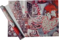 Набор пленки для оформления подарков Vista Новогодняя сказка 90мкм (50х70, 2 листа) -
