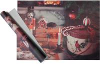 Набор пленки для оформления подарков Vista Щелкунчик 90мкм (50х70, 2 листа) -