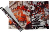 Набор пленки для оформления подарков Vista Рождество в Вене 90мкм (50х70, 2 листа) -