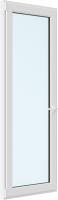 Дверь балконная Brusbox Roto Поворотно-откидная без импоста левая 3 стекла (600x2000x70) -