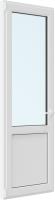 Дверь балконная Brusbox Roto Поворотно-откидная внизу с/п левая 3 стекла (700x2100x70) -