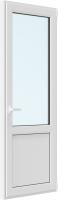 Дверь балконная Brusbox Roto Поворотно-откидная внизу с/п правая 3 стекла (800x2200x70) -