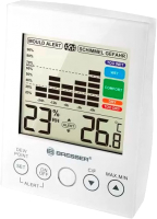 Термогигрометр Bresser Mould Alert / 73275 (белый) -