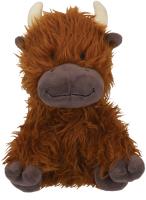 Игрушка для животных Rosewood Бычок с рожками / 39171/RW (коричневый) -