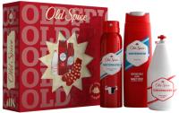 Набор косметики для лица и тела Old Spice Whitewater гель д/душа+дезодорант-спрей+лосьон для бритья+носки -