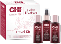 Набор косметики для волос CHI Rose Hip Color Protection Travel Kit -