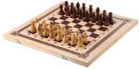 Набор игр Нескучные игры Шахматы, шашки, нарды 3 в 1 / ШК-1 -
