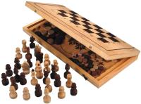 Набор игр Нескучные игры Шахматы, нарды 2 в 1 / ШК-2 -