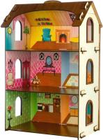 Кукольный домик Теремок Кукольный домик Лоли / 3128 -