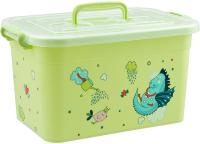 Ящик для хранения Полимербыт Радуга 80901 (салатовый) -
