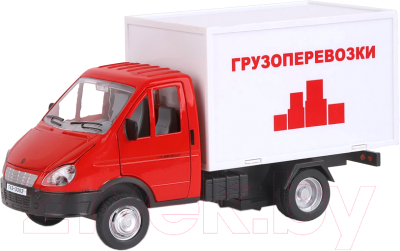 Масштабная модель автомобиля Автопанорама Газель-бизнес. Грузоперевозки / JB1200217