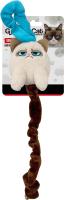 Игрушка для животных Rosewood Сердитый кот с длинным хвостом / 14205/51102/RW (бежевый) -