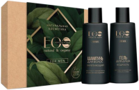 Набор косметики для тела и волос Ecolatier Mеn Care Гель д/душа 150 мл+Шампунь д/волос 150мл -