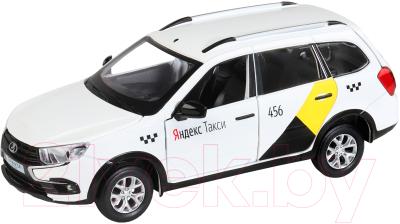 Масштабная модель автомобиля Автопанорама Яндекс. Такси Lada Granta Cross / JB1251346