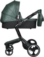 Детская универсальная коляска Farfello Hot Mama 2 в 1 (вечнозеленый) -