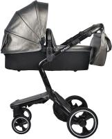 Детская универсальная коляска Farfello Hot Mama 2 в 1 (стальной) -