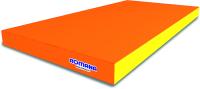 Гимнастический мат Romana 5.000.06 (оранжевый/желтый) -