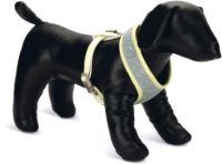 Шлея-жилетка для животных Beeztees Bronda / 746926 (M, серый) -