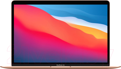 "Ноутбук Apple MacBook Air 13"" M1 2020 256GB / MGND3 (золото)"