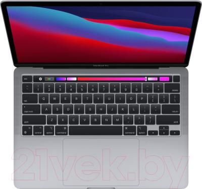 """Ноутбук Apple MacBook Pro 13"""" M1 2020 256GB / MYD82 (серый космос)"""
