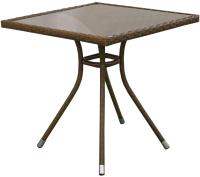 Стол садовый Mebius Cafe 3 / 190087 (алюминий) -