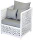 Кресло садовое Mebius Veil / 190127 (алюминий) -