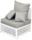 Кресло садовое Mebius Veil / 190128 (алюминий) -