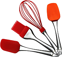 Набор кухонных приборов Maestro MR-1590 (оранжевый) -