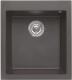 Мойка кухонная Elleci Quadra 100 Full Black G40 / LGQ10040 -